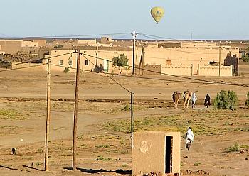 Ballooning in Merzouga