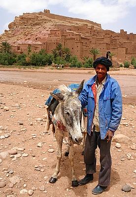 Kasbah Ait Ben Haddou near Quarzazate