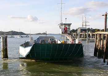 Car Ferry Opua - Russell