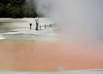 Champagne Pool im Wai-O-Tapu Thermal Park