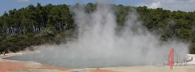 Champagne Pool im Wai-O-Tapu Thermal Park