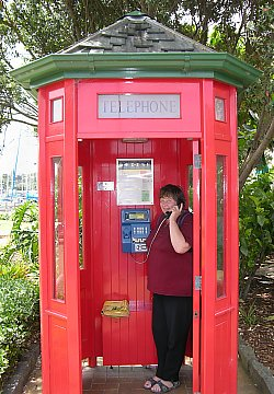 Telefonieren in Neuseeland