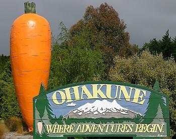 Ohakune am Tongariro National Park