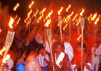 light festival in November