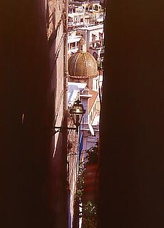 Gasse in Positano (Februar)