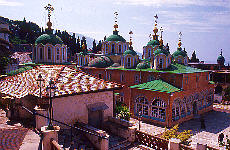 Russisches Kloster Agiou Pantheleimonos (Juli)