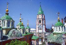 Russisches Kloster Agiou Pantheleimonos (April)