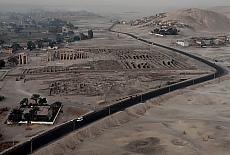 Ramesseum, der Totentempel von Ramses II (April)