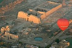 Medinet Habu, der Totentempel von Ramses III (August)