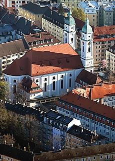 San Fransiskus Kirche München Untergiesing (Januar)