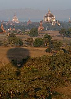 Thatbyinnyu Tempel in Bagan (August)