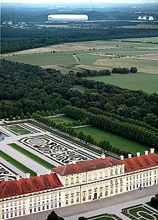 Schloss Schleissheim und Allianz Arena (Januar)