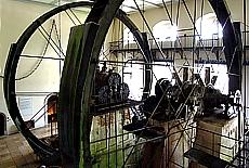 Maschinenhalle der Alten Saline in Bad Reichenhall (Juni)