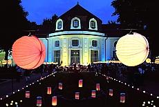 Lampionfest im Kurhaus in Bad Reichenhall (Juli)