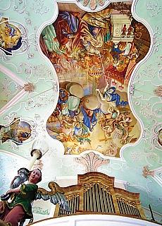 Barockkirche Ettenberg (Dezember)