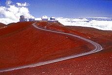 Weltraumbeobachtung auf dem 4205 m hohen Mauna Kea (Februar)