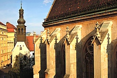 Altstadt von Bratislava (Januar)