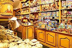 Biscuitier Shop im Zentrum von Brüssel (Oktober)