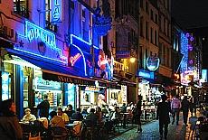 Vergnügungsmeile in Brüssel (Juni)