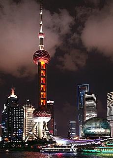Skyline von Shanghai (Juni)