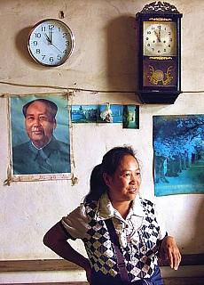Mao ist bei den armen Menschen noch nicht vergessen (Oktober)