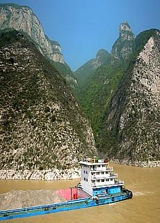 Blasebalgschlucht auf der Yangtze Kreuzfahrt (September)
