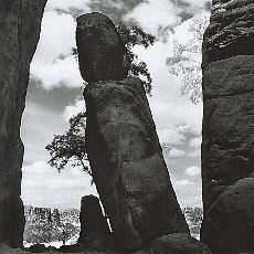 Felsformation am Kuhstall (Februar)