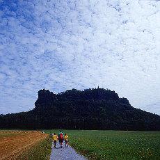 Wandern über die Ebenheit zum Lilienstein (Januar)