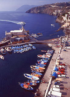 Marina Corta in Lipari (Oktober)