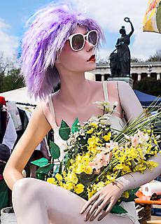 Flohmarkt unter der Bavaria (April)