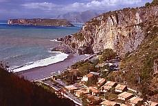 Strand bei Praiano (September)