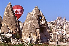 Hot Air Ballooning in Göreme (März)