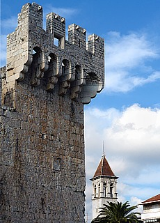 Wehrturm in Trogir (März)
