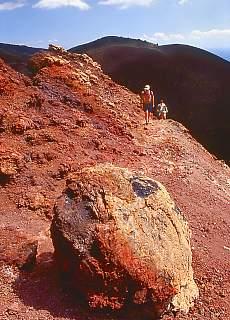 Wanderung auf den Vulkan Teneguia (August)