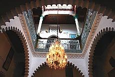 Riad in der Medina von Tetouan (Oktober)