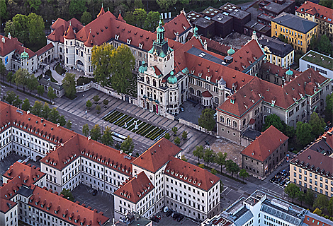 Bayerisches Nationalmuseum, Prinzregentenstrasse (September)