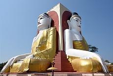 Kyaik Pun Pagode in Bago (Januar)