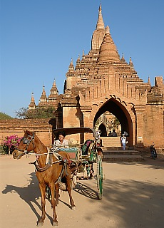 Sulamani Pagode in Bagan (August)