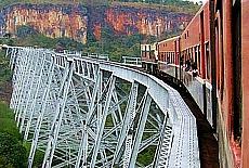 Gokteik Viadukt (Oktober)