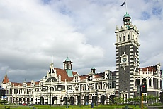 Bahnhof in Dunedin (August)