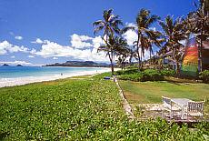 Kailua auf Oahu, schönster Strand der USA (Mai)