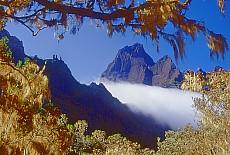 Blick vom Col de Taïbit (Oktober)
