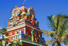 Hindu Tempel in Saint Pierre (November)
