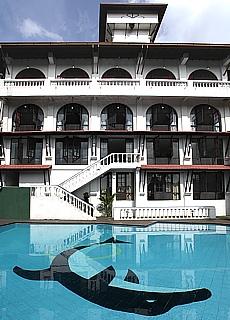 Hotel Swiss Recidence in Kandy (Juni)