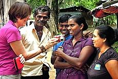 Singhalesen sind sehr freundliche Menschen (Mai)