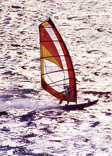 Windsurfen auf Hawaii (Februar)