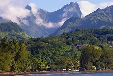 Venus Point auf Tahiti (Oktober)