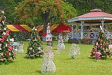 Weihnachtsmarkt auf Tahiti (Dezember)