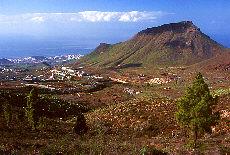 Blick auf die Küste bei Adeje (Juni)