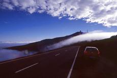 Wolkenspiel in den Las Canadas (Januar)